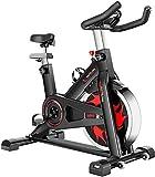 NBLD Bicicleta de Spinning Las Bicicletas estáticas se utilizan en gimnasios caseros, Bicicletas fijas para Interiores con Soporte para teléfono móvil y Soporte para Botellas, Bicicletas de spinn