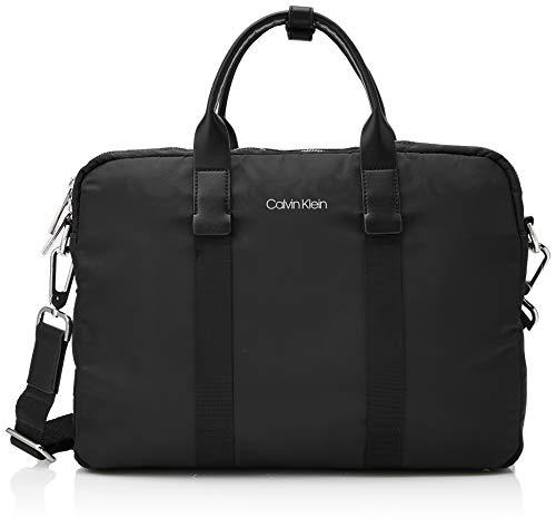 Calvin Klein - Braced 1 G Laptop Bag, Bolsas para portátil Hombre,...