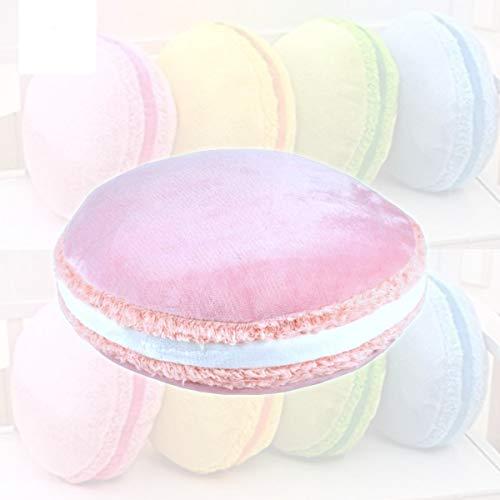Mood Milano Kissen mit bunten Macarons, weich, für Sofa, Bett oder Auto rosa