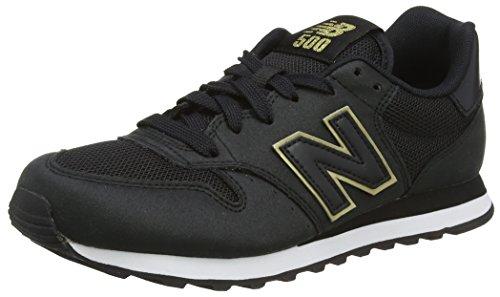 New Balance Damen GW500 Sneaker, Schwarz (Black/gold/GW500KGK), 37.5 EU