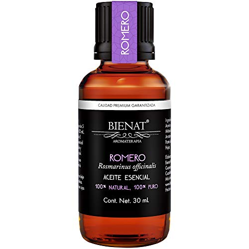 Bienat Aromaterapia Aceite Esencial de Romero 30mL