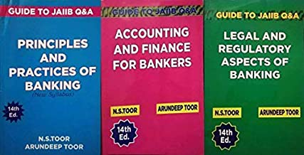 CONBO SET FOR JAIIB 3 BOOKS SET ( LEGAL , PRINCIPLES AND ACCOUNTING ) NEW 14TH, EDITION 2019