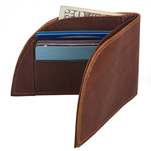 Miles Kimball Mens Front Pocket Wallet With Money Clip