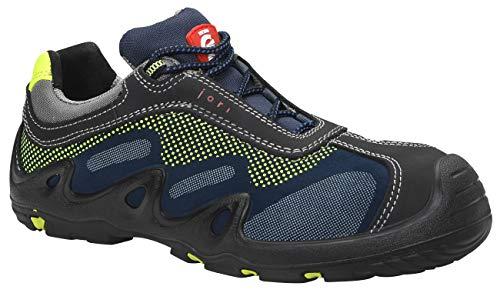JORI Sicherheitsschuhe HARVEY Low S3, Damen und Herren, Sneaker, sportlich, Blau, Kunststoffkappe - Größe 42