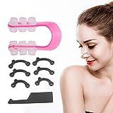Strumento Naso Up, Naso Shaper invisibile, Clip per raddrizzatura Lifting, Naso Bridge Enhancer per la bellezza, rosa