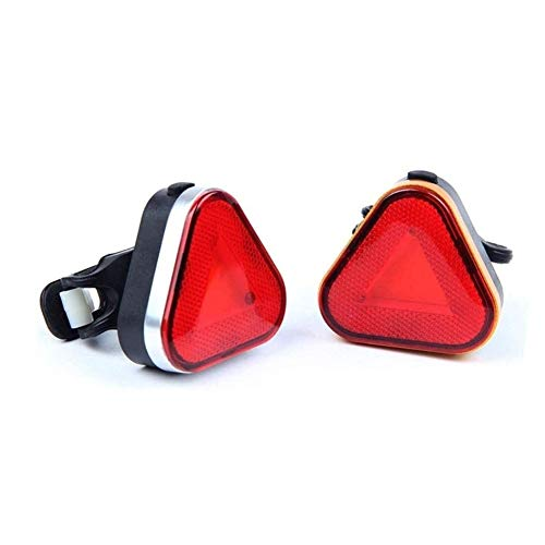 ANXIANG Bicycle Lamps, Light USB Charging, Waterproof Materials, LED Warning Lights Flashing Safe Operation, Common Bicycle Parts, Easy to Install and Carry