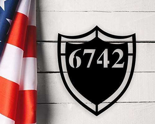 Ced454sy - Placa de número de casa, número de casa, número de casa, señal de dirección, placa de dirección, número de dirección, número de dirección, cartel de número de casa