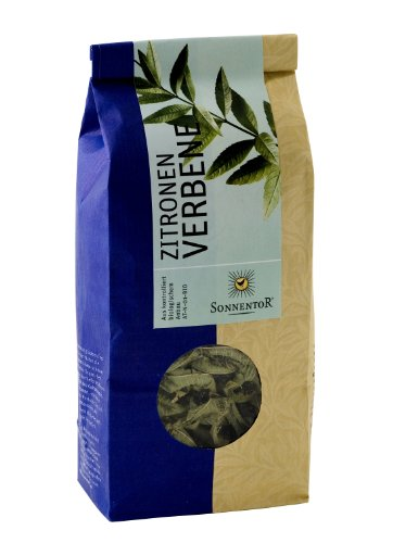 Sonnentor Tee Zitronenverbene lose, 1er Pack (1 x 30 g) - Bio