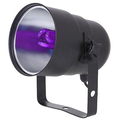 ibiza light Blacklight Par38 Can with UV Energy Saving Bulb
