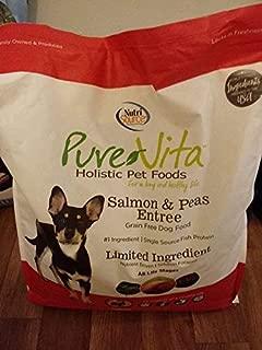 Pure Vita Grain Free - Salmon & Peas Entree - 25 Lb