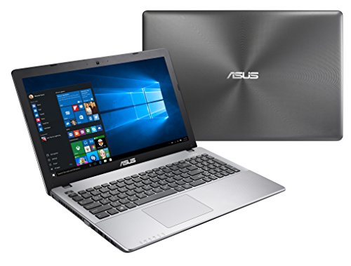 ASUS R510VX-DM528T - Ordenador portátil de 15.6' FullHD (Intel Core i7-7700HQ, 8 GB de RAM, 1TB HDD, NVIDIA GeForce GTX950M de 2GB, Windows 10), color gris oscuro - Teclado QWERTY Español