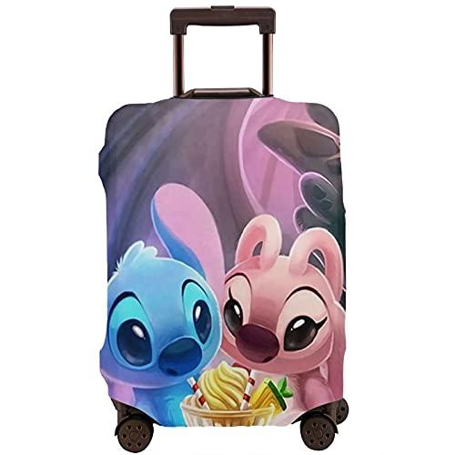 Funda protectora de dibujos animados anime Lilo Stitch Maleta lavable diseño 3D impresión 4 tamaños para la mayoría de equipaje bolsa protectora cremallera