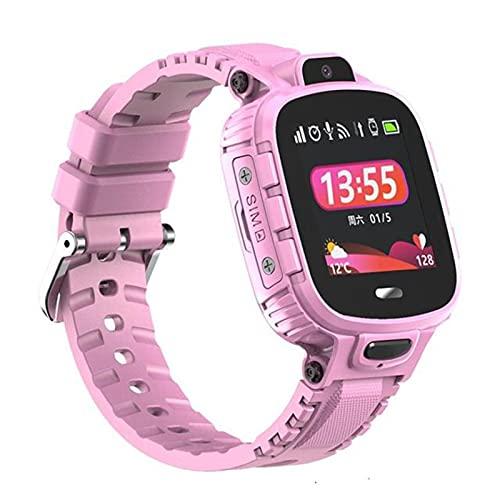 ZBY Original TD26 Smart Watch Watch IP67 Impermeable GPS WiFi Baby Tracker Cámara Monitoreo Y Posicionamiento Reloj Infantil,C