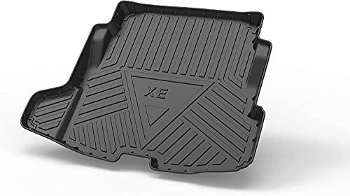 Car Kofferraummatte für Jaguar XE 2018, Kofferraummatte zuschneidbare Gummimatte Antirutsch fahrzeugspezifisch