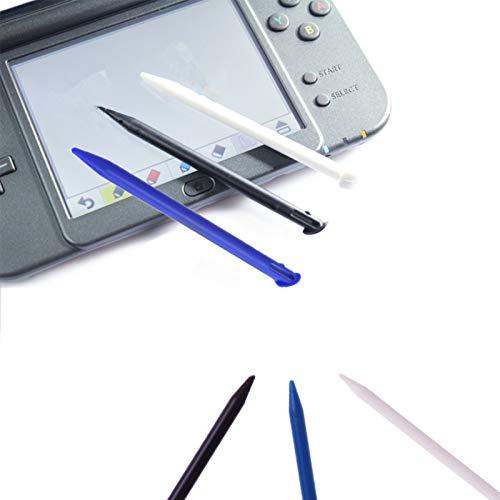 YouU 6 Stück Bunten Kunststoff-Ersatz-Touch-Screen-Stift, kompatibel mit Nintendo 3DS XL, New 3DS LL