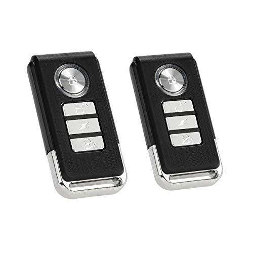 Mengshen Paquete De 2 Mandos A Distancia, Compatible con Alarmas M64 / M641 / M642 / M70 / M701 / M702 / Z07 / Z08 / Z09