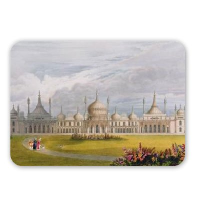 Brighton Royal Pavilion, 19th century (w/c.. - Mousepad - Natürliche Gummimatten bester Qualität - Mouse Mat