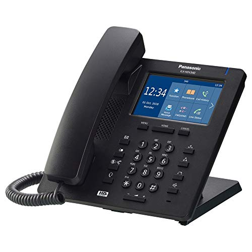 Panasonic Comfort KX-HDV340 - Terminal SIP, Color Negro