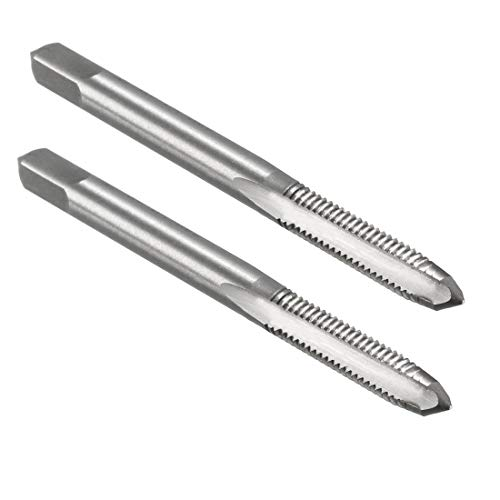2-3//8 OAL H3 Plug 10-24 High Speed Steel// Ground Thread 1//2 TL CNC Heavy Duty Spiral Point Taps 3 Fl
