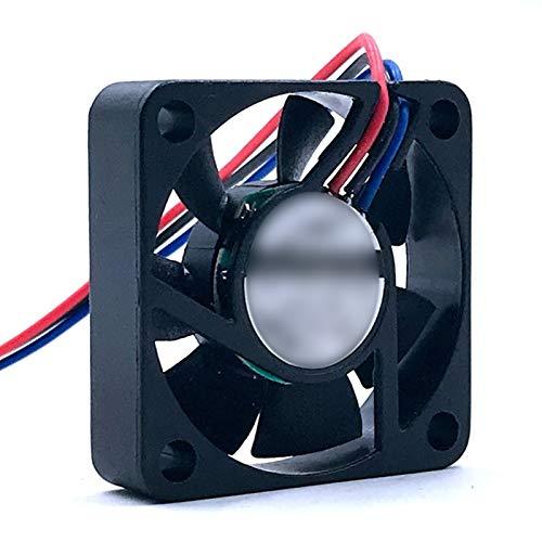 OLDJTK Ventilador 40mm Nueva for ADDA AD0412HB-G76 40 * 40 * 10mm 4 CM 4010 12V 0.1A 3-wirel del 6600RPM axial del Ventilador de refrigeración