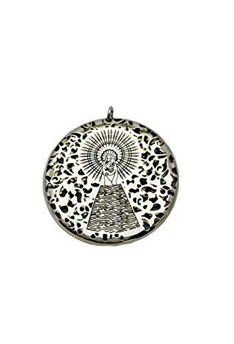 Medalla Virgen del Pilar en Plata de Ley