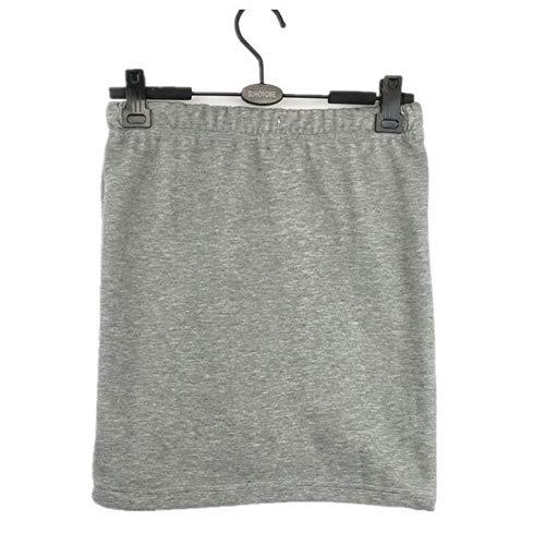 ERLIZHINIAN 2019 jesień zima damskie spódnice biuro formalne spódnice ołówkowe na co dzień seksowne wąskie spódnice ostrzegawcze o wysokim stanie, duży rozmiar M - 6XL (kolor: Szary, rozmiar: M)