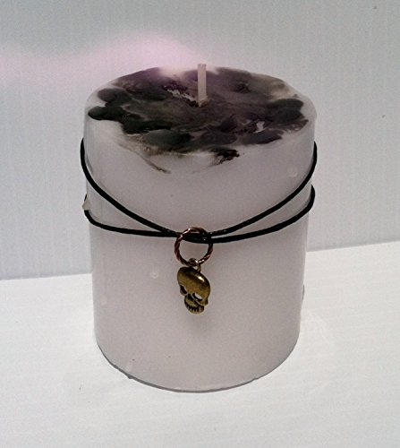 Remove HEX, Curse, or Spell Wiccan Protection CANDLEFREE Skull Charm Protection Necklace