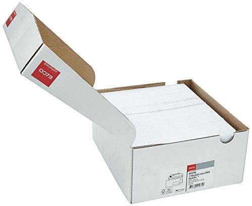 Elco 60296 Enveloppe avec fenêtre Format DL Blanc - Lot de 500