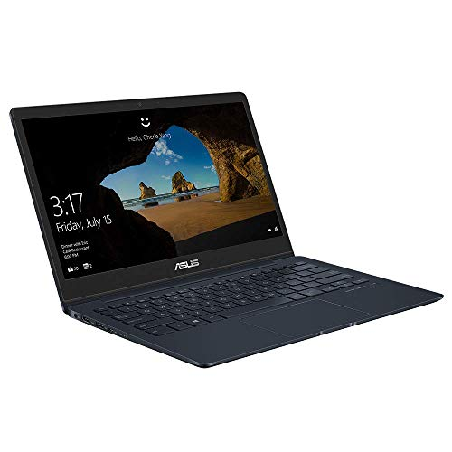 ASUS ZenBook 13 UX331UAL (90NB0HT3-M03420) 33,7 cm (13,3 Zoll, FHD, matt) Ultrabook (Intel Core i5-8250U, 8GB RAM, 256GB SSD, Intel UHD-Grafik 620, Windows 10) deep dive blue