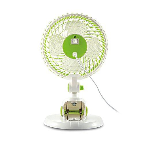 Demarkt–Mini USB Ventilador Desktop Ventilador Mini de ventilador con clip 16,5cm * 6,5CM * 31cm