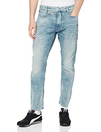 G-STAR RAW Herren Jeans D-staq 5-pocket Slim, Sun Faded Scanda Blue C430-B836, 29W / 30L