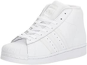 adidas Originals Unisex-Kid's PRO Model C Shoe, FTWR White, Running White, Running White, 3 M US Little Kid