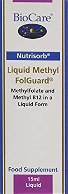 BioCare Nutrisorb Liquid Methyl Folguard, 15 ml by BioCare