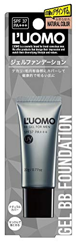 L'UOMO(ルオモ)『ナチュラルBBジェルNジェルファンデーション』