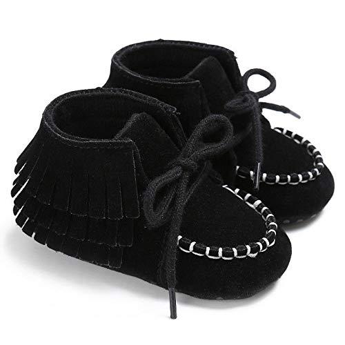 DYCDQMJC Zapatos de bebé nuevos de algodón para bebé, zapatos de bebé con suela suave, zapatos para recién nacidos, zapatos para caminar de 0 a 1 año