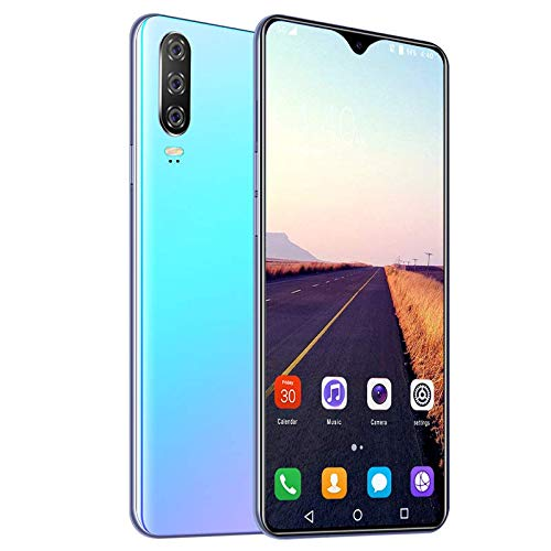 A70 Teléfono 3800 mAh Batería Smartphone, Pantalla Completa de 6.7