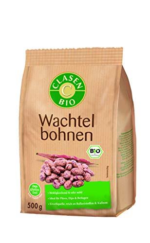 CLASEN BIO Wachtelbohnen - 500g