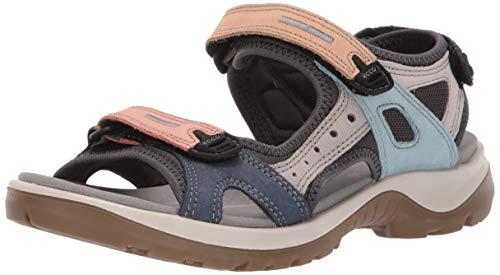 ECCO Damen OFFROAD Flat Sandal, Mehrfarbig (MULTICOLOR), 38 EU