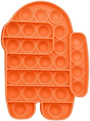 Push Pops Bubble Fidget Sensory Toys Funny Relief Stress Desktop Game Soft Squeeze Toy Logical product image