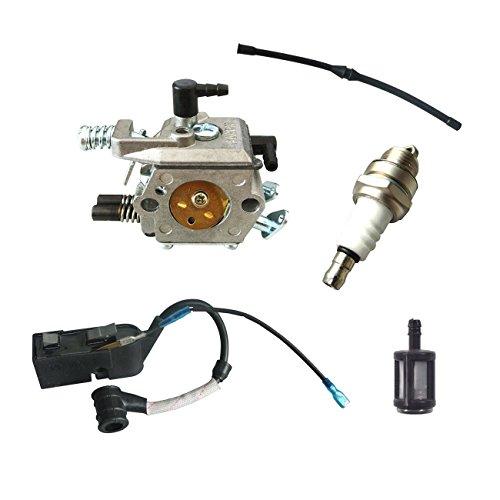 Jrl Bobine d'allumage Carburateur kit de filtre à carburant pour chinois tronçonneuse 45 cc 52 cc 58 CC