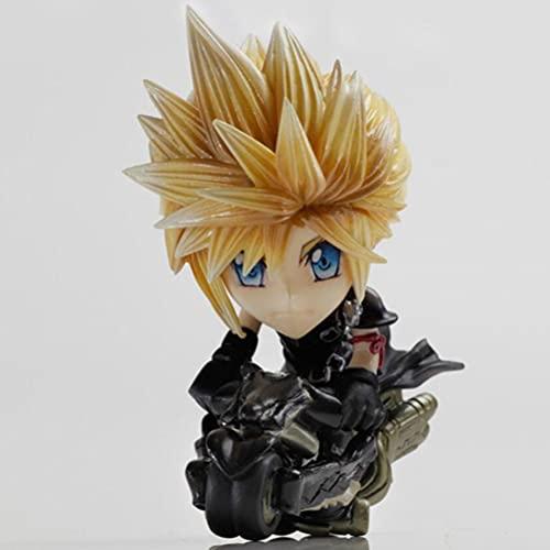 YLJXXY Final Fantasy Cloud Strife Figura di Azione Anime Model Action Figure Giocattoli da Collezione per Fotografia, Hobby E Collezione