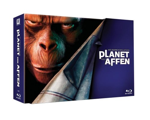 Planet der Affen: 40 Jahre Evolution Blu-ray Collection [Collector's Edition]