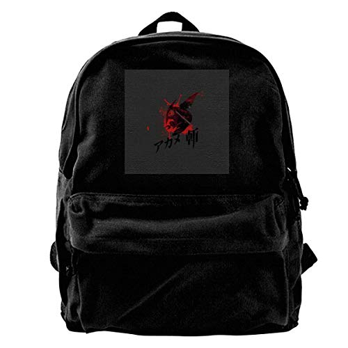 Mochila de lona casual de moda, mochila de lona, mochila de sangre para gimnasio, senderismo, portátil, bolsa de hombro para hombres y mujeres