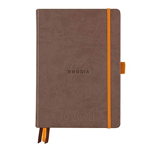 DotPad Block Rhodia DIN A4+ 21x31,8cm Dot Grid Orange 80 Blatt