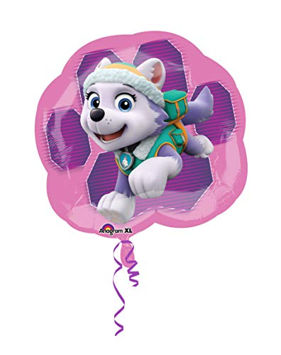 Amscan International 3426901 25-Inch Paw Patrol Skye and Everest Super Shape Foil Balloon by Amscan International , color/modelo surtido