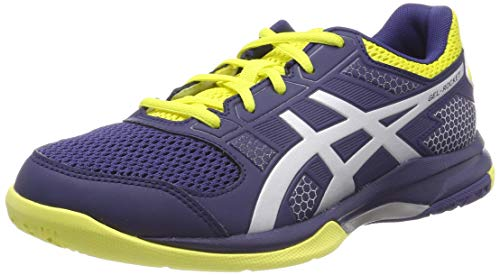ASICS Mens Gel-Rocket 8 Volleyball Shoes, Navy, 44 EU