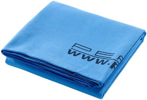 PEARL Mikrofaser Handtuch: Extra saugfähiges Mikrofaser-Badetuch, 180 x 90 cm, blau (Microfaser Saunatuch)