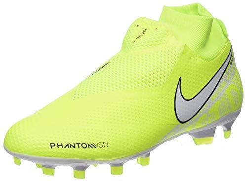 Nike Herren Phantom Vision Pro Dynamic Fit Fg Fußballschuhe, Grün (Volt/White/Volt 717), 44 EU