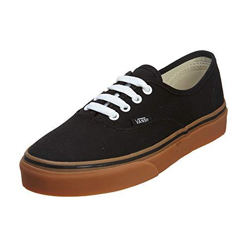 Vans Authentic Vee33b2 - Zapatos de skate unisex para adulto, color negro, 19 EU