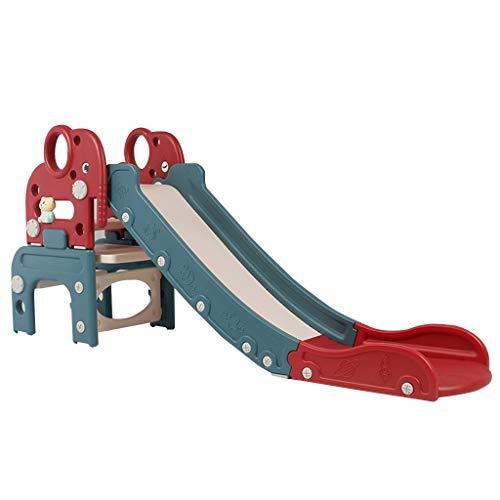 Tobogán De Escalada Interior para Niños Parque Infantil Perfumado Tobogán Infantil Al Aire Libre Tobogán Pequeño Multifuncional Niños (Color : Red, Size : 153 * 60cm)